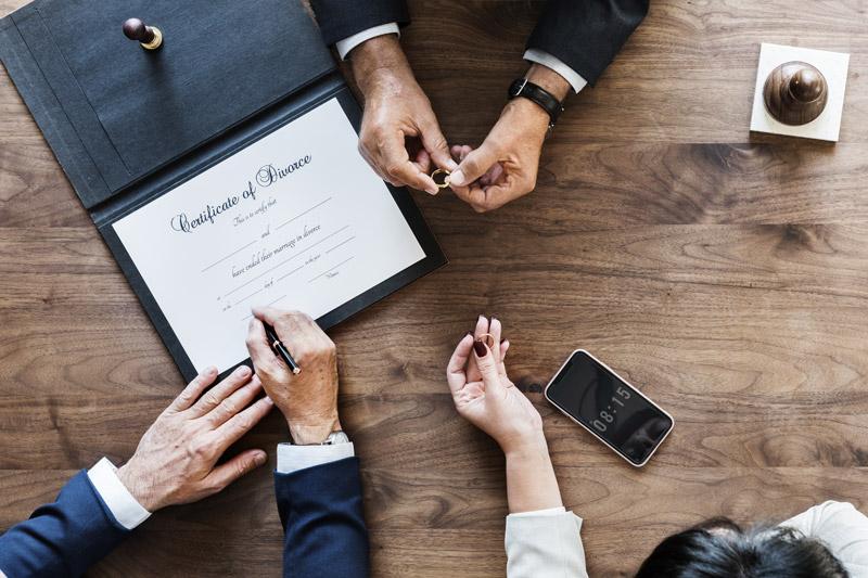 La separación y el divorcio tras la Ley del divorcio de 2005